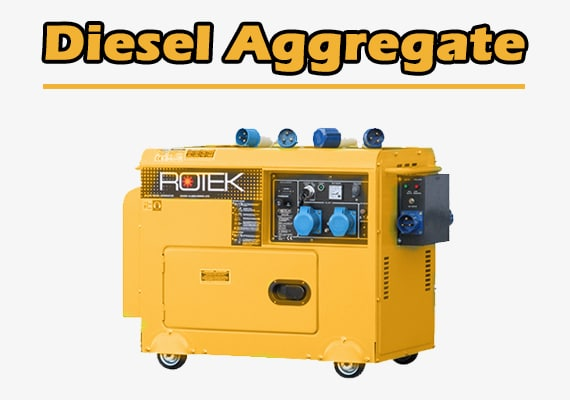 Stromaggregat-Stromgenerator-Diesel